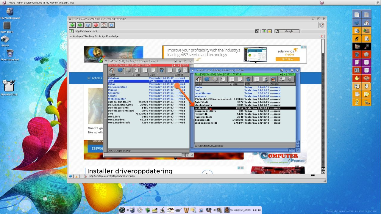 MorphOS YouTube Gmail Fix