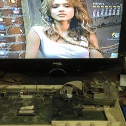 Amiga 1200 on a Flatscreen