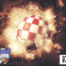 Amiga 3D boingball image creation by Mados