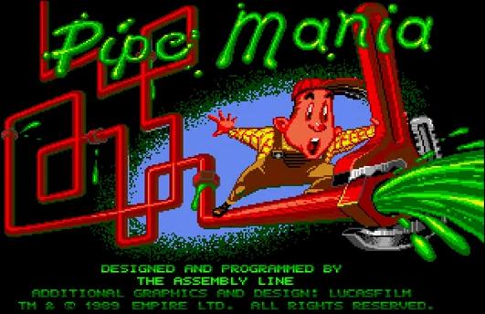 Pipe Mania Amiga