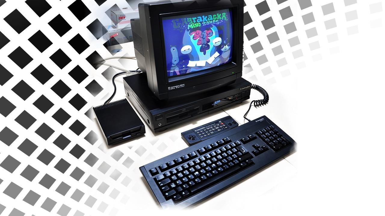 Amiga CDTV Computer Finn