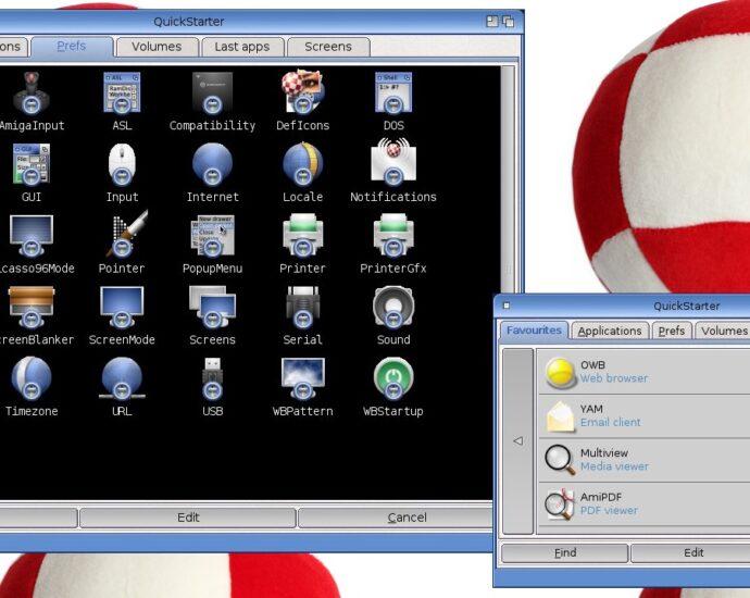 Quickstarter for AmigaOS 4