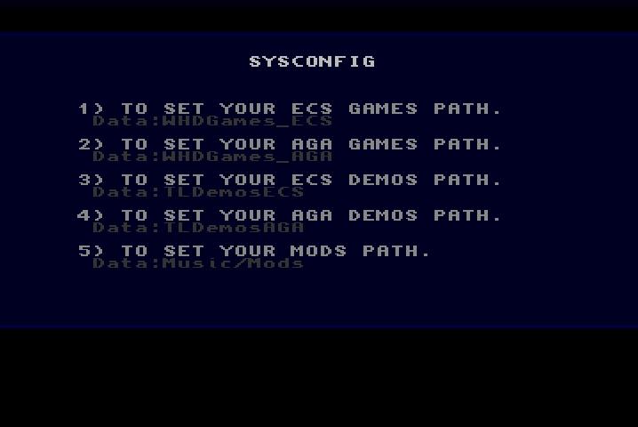 Tiny Launcher for Classic Amiga