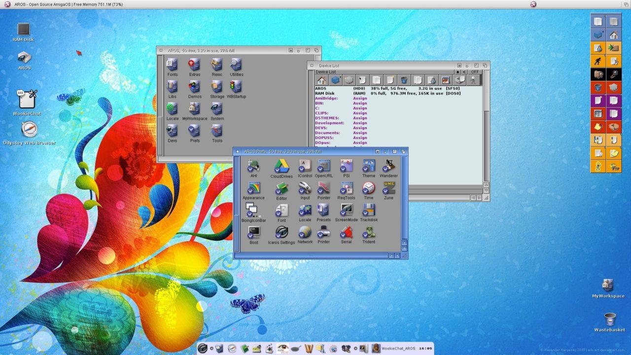 AROS - Icaros Desktop