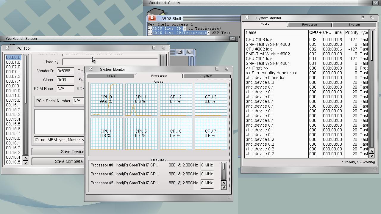 AROS 64-bit and SMP Introduction
