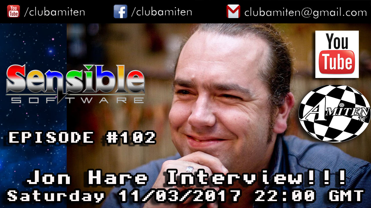 Jon Hare Interview on Amiten TV