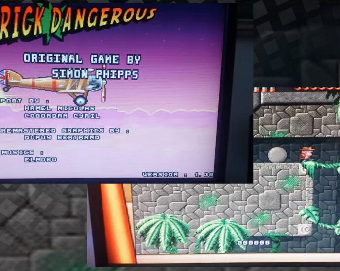 Vampire Amiga users Rick Dangerous