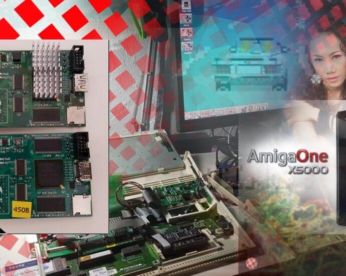 Vampire FPGA inside Amiga 600