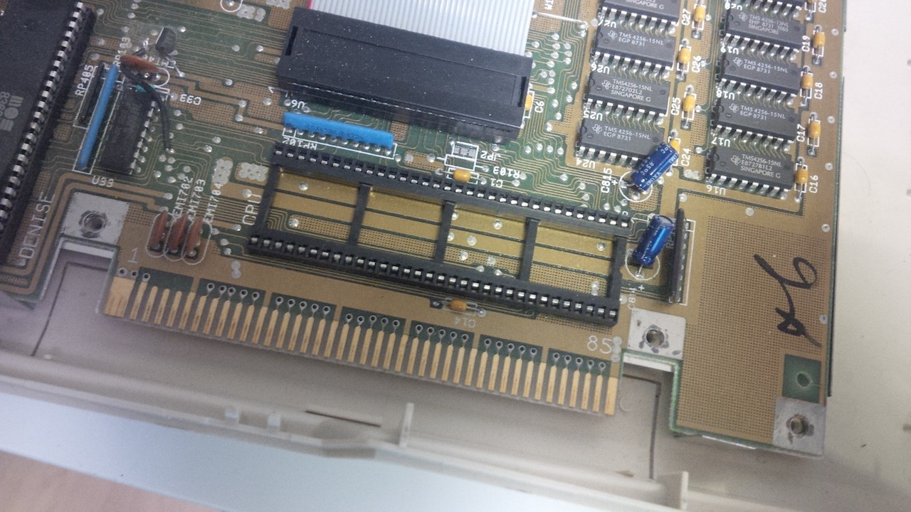 Commodore Amiga 500 with 68080