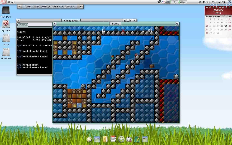 beret AmigaOS 4