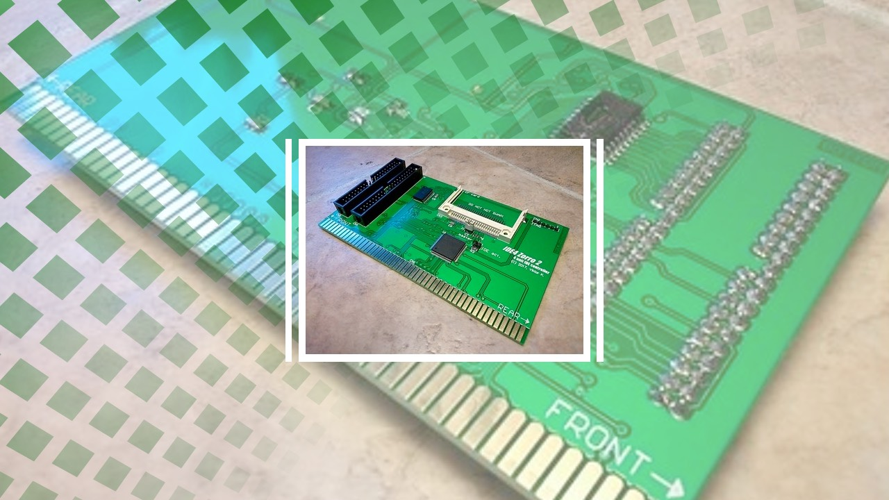 New IDE controller for Amiga 2000 on sale