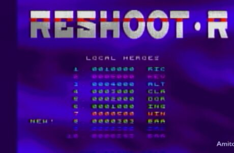 Reshoot R for AGA Amiga Try Out