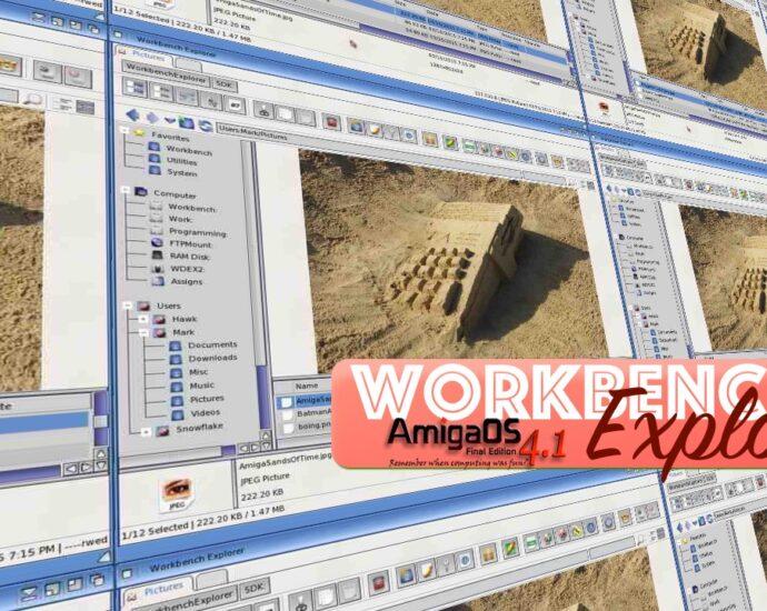 workbench explorer shot AmigaOS 4