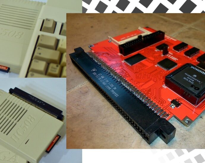 The New HC508CR 68HC000 50MHz accelerator for Amiga 500