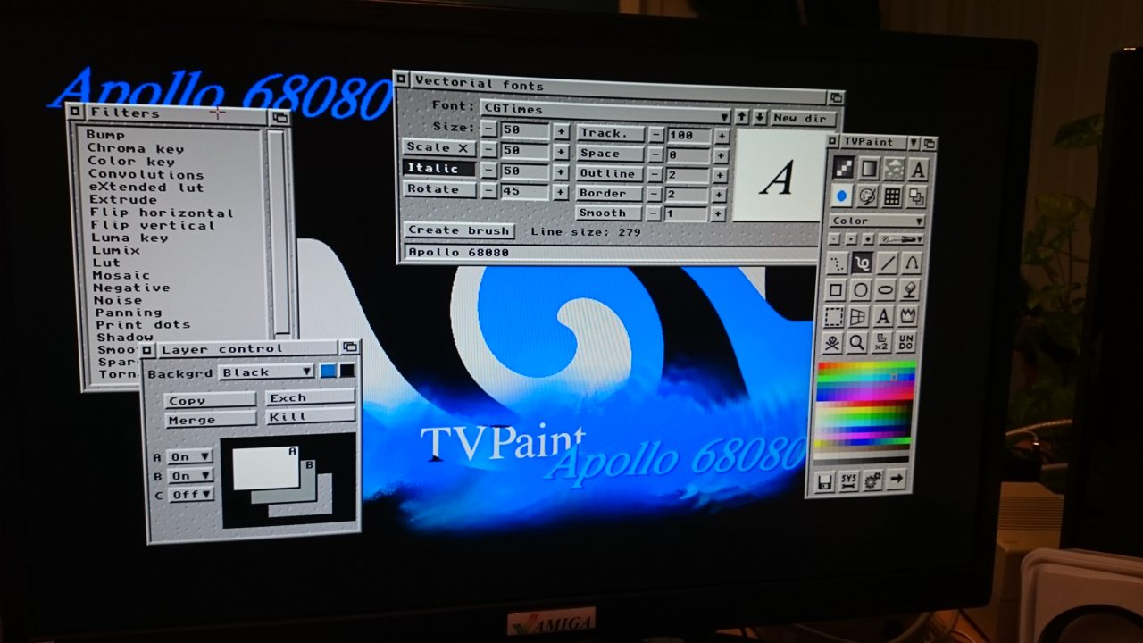 GOLD 3 is Approaching 68080 Vampire Amiga Accelerator Cards Users