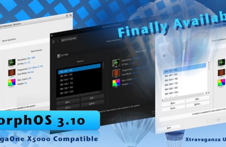 MorphOS 3.10 is Finally here