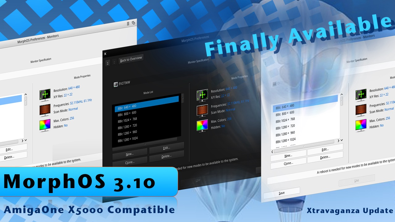 MorphOS 3.10 is Finally here