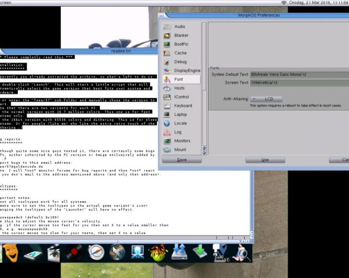 Redit 2.0 MorphOS Review Issues Resolved