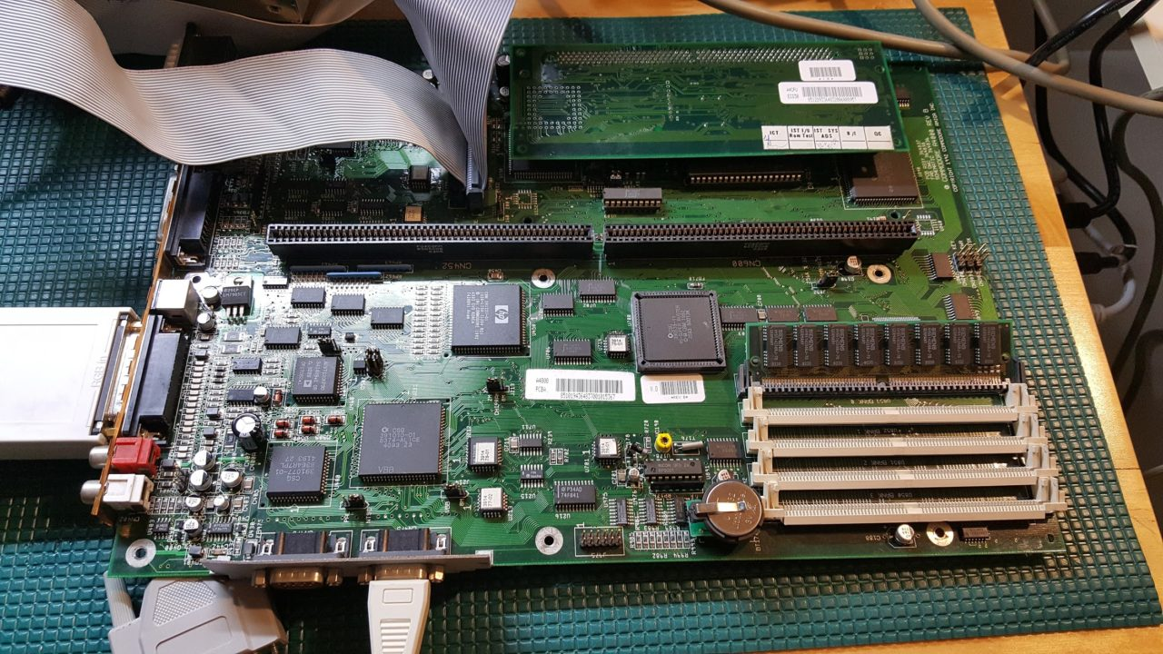 Amiga 4000D Rev B replica Project is Alive