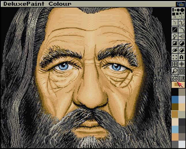 Nice drawn Old Man