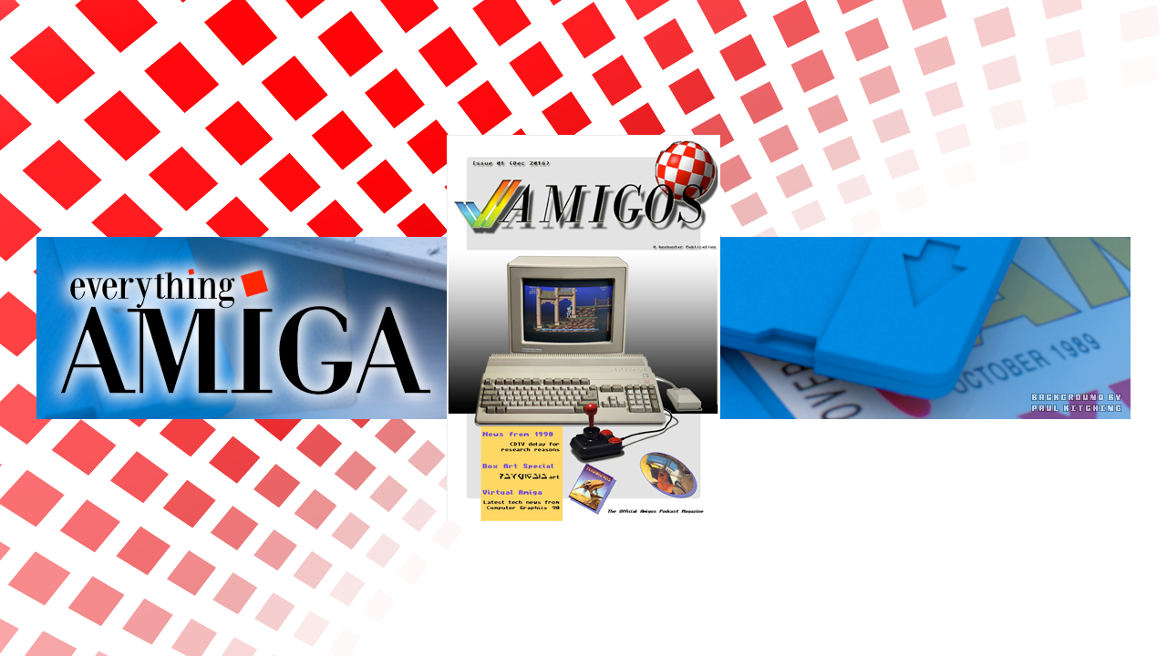 Amigos Amiga Podcast, Worthy Amiga News to Share