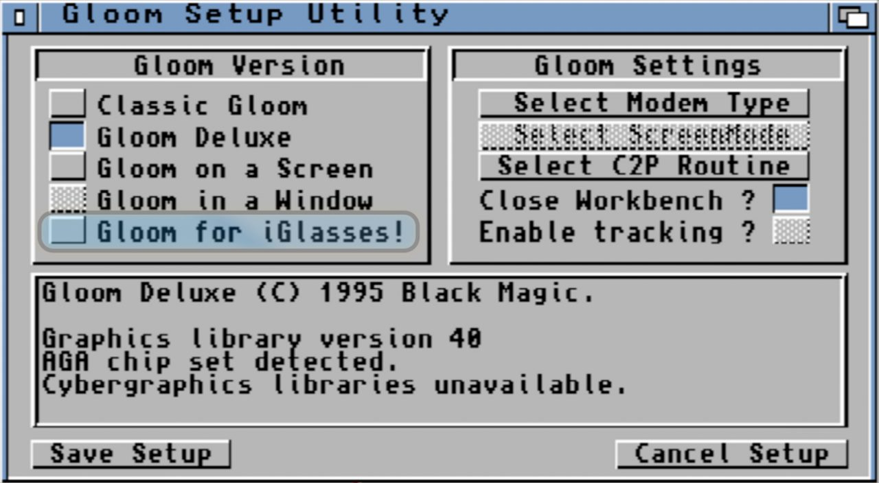 VR i-glasses from ESCOM and Amiga Technologies in 1995