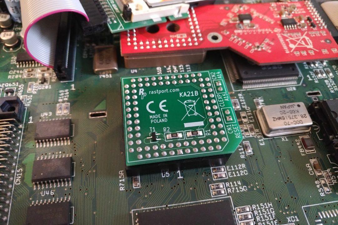 Amiga 1200 Hardware Gayle Reset Fix KA 21