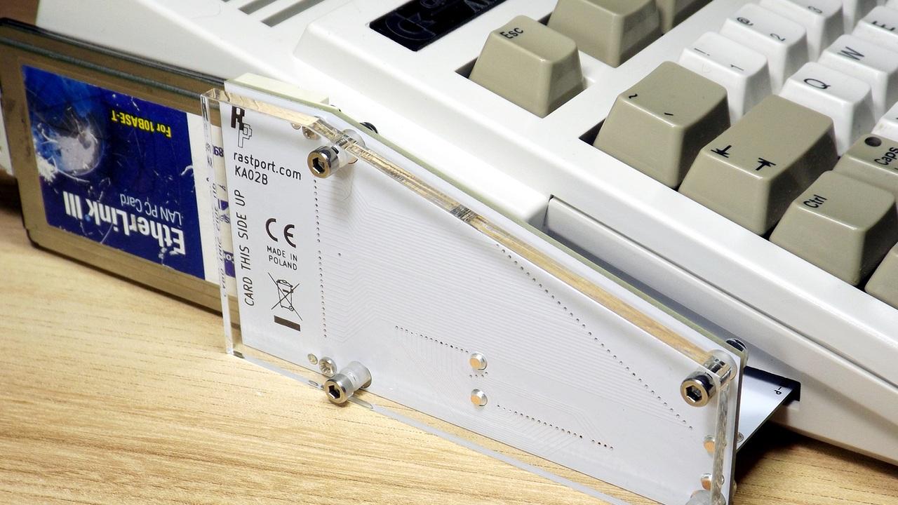 External PCMCIA adapter for Amiga 1200
