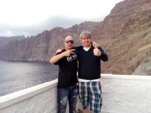 Amiten TV showing Canary Island Amiga love on Tenerife
