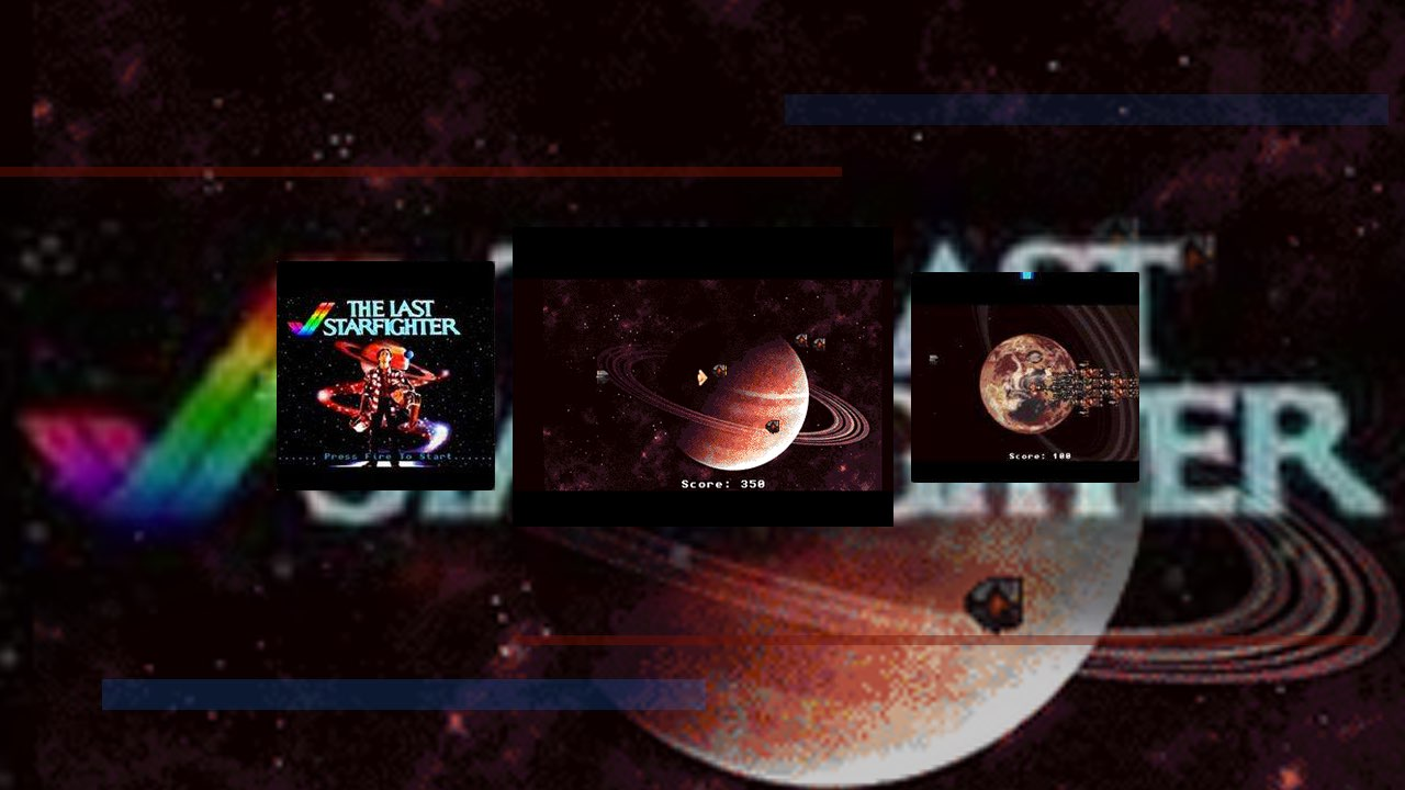 The Last StarFighter is a Brilliant Amiga shooter Game