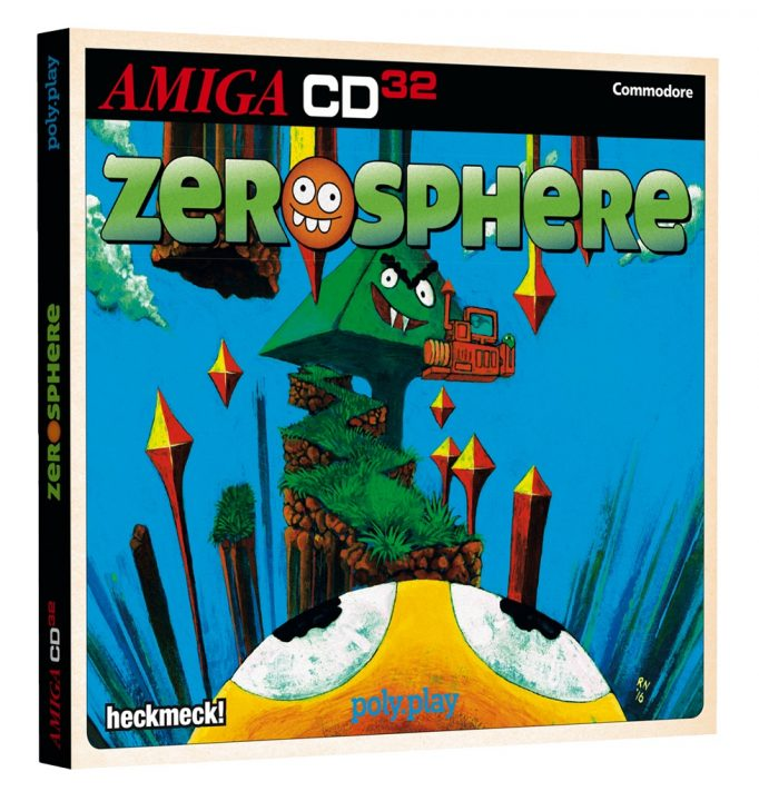 Zerosphere is a New plattformer for Amiga Released
