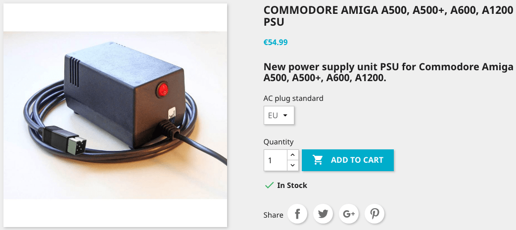New Amiga power supply Replacement for low-end systems Review