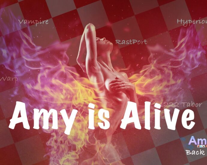 Amitopia Amy Is Alive To Burn Again