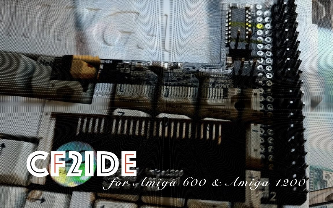 CF2IDE is a Nice Upgrade for Amiga 600 or Amiga 1200