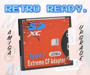 Compact Flash Adapter Retro Ready.