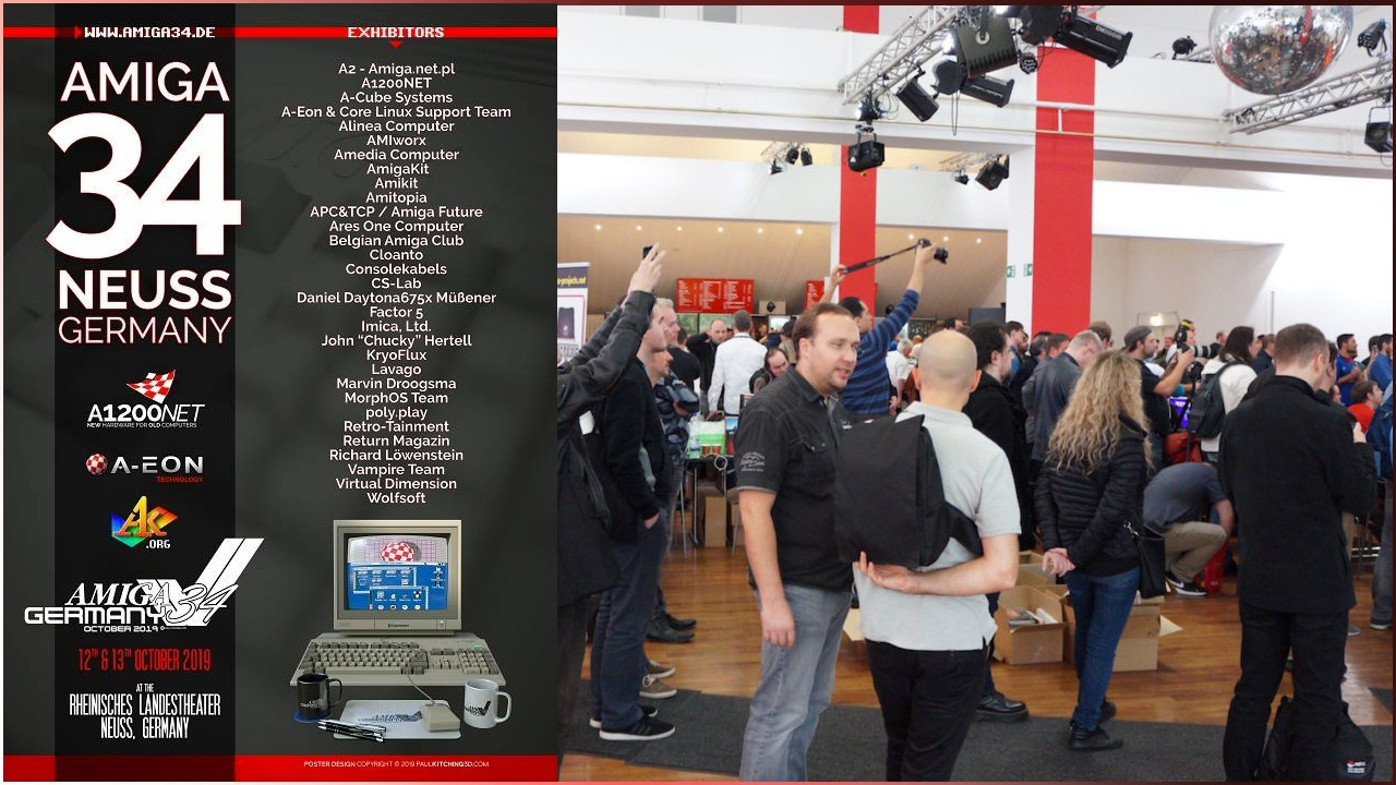 Amitopia will Be at the Important Amiga 34 Event in Germany