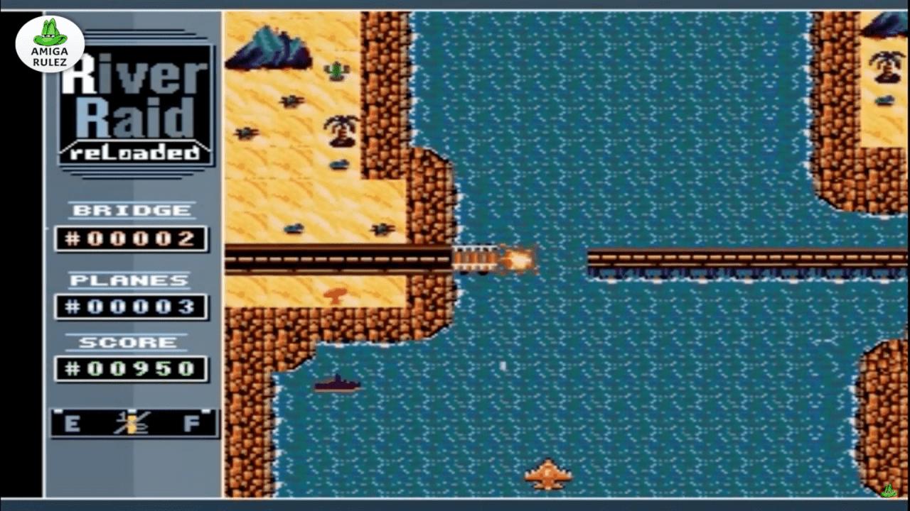 River Raid clone for Amiga
