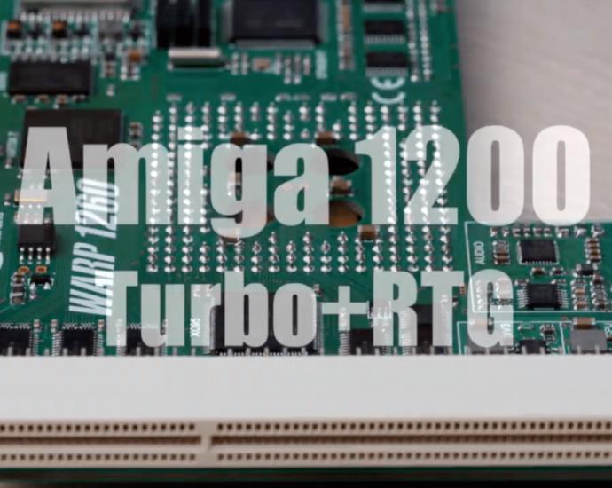 Classic Amiga will soon Warp into 68060 Dimension