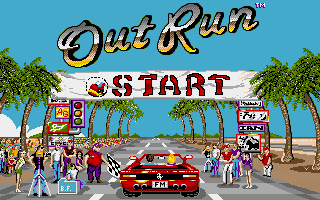 Out Run for Amiga is a Great Arcade Conversion