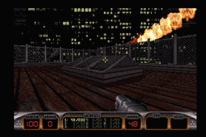 Duke Nukem 3D port for Amiga AGA