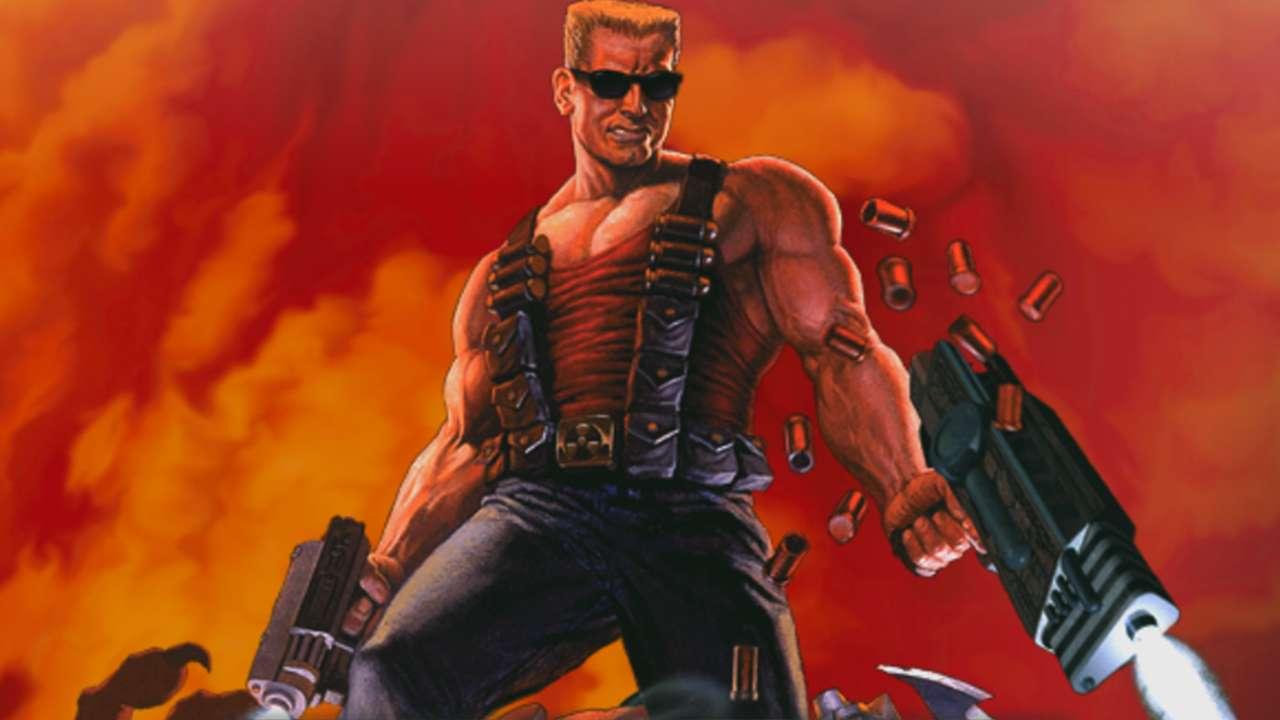 Duke Nukem 3D port for Amiga AGA