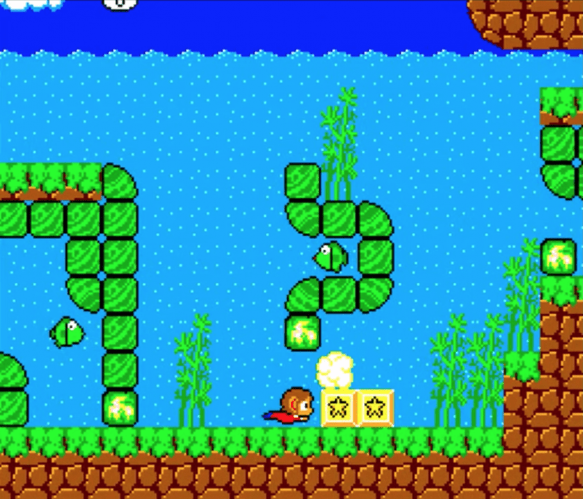 Alex Kidd for Amiga Released at Kiwi Jam 2019
