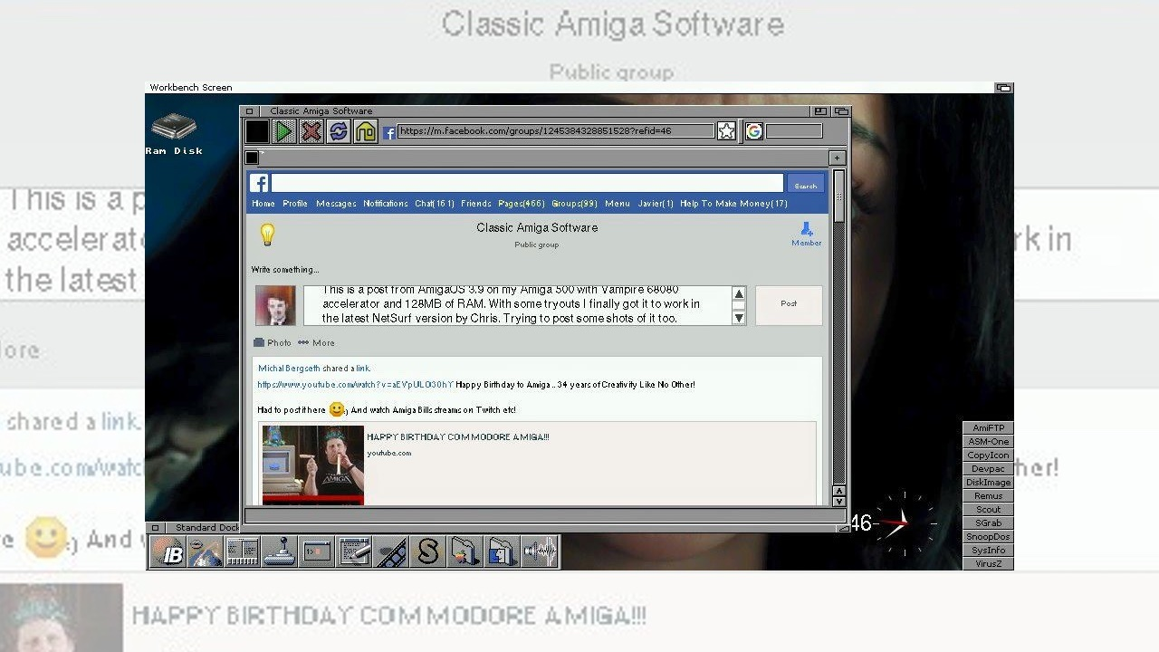 NetSurf 3.9 BETA for Classic Amiga Revealed