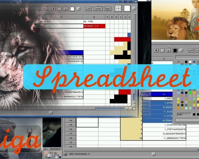 Leu is the New Spreadsheet app for Amiga