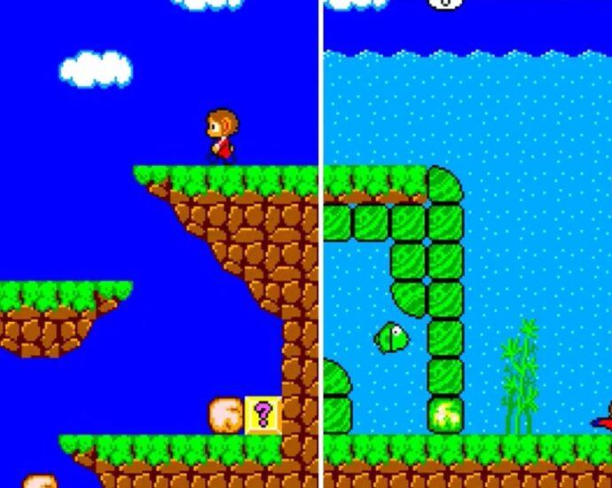 Alex Kidd for Amiga Released at Kiwi Jam 2019