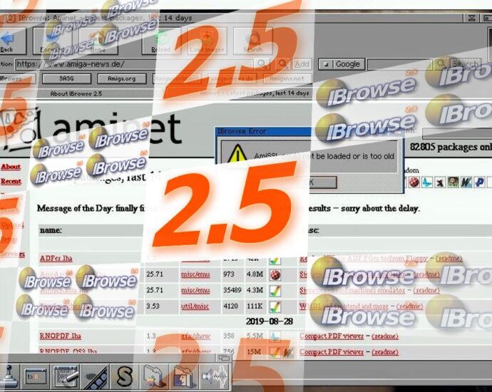 IBrowse 2.5 is out for Classic and Nextgen AmigaOS