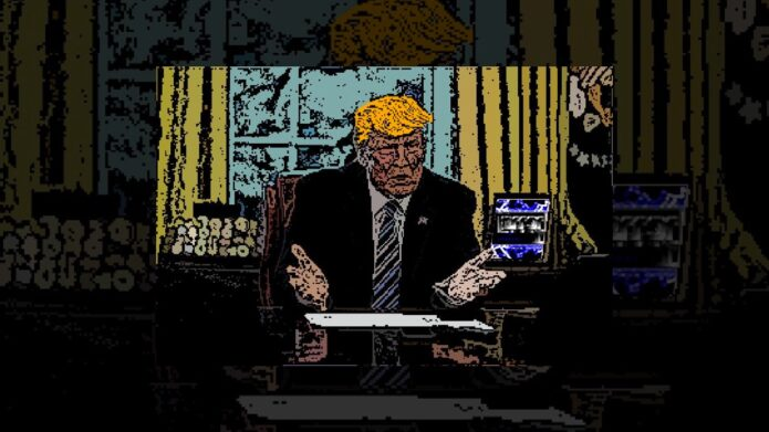 Interview with Donald Trump about Amiga 1222