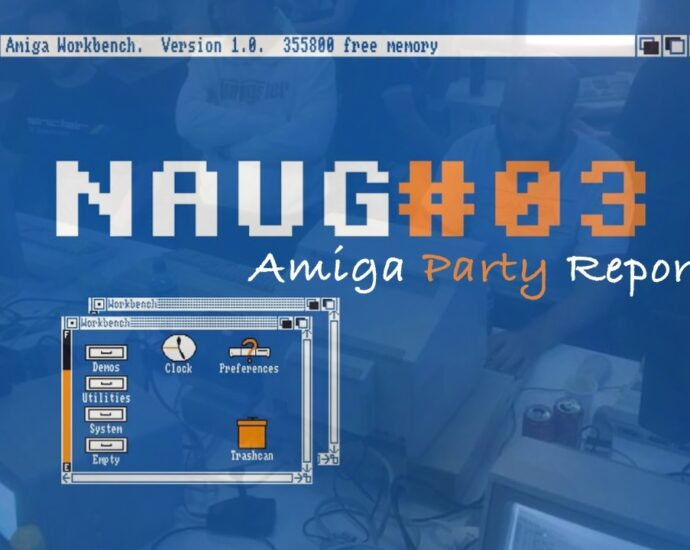 A small but Important NAUG #03 Amiga Party Experience
