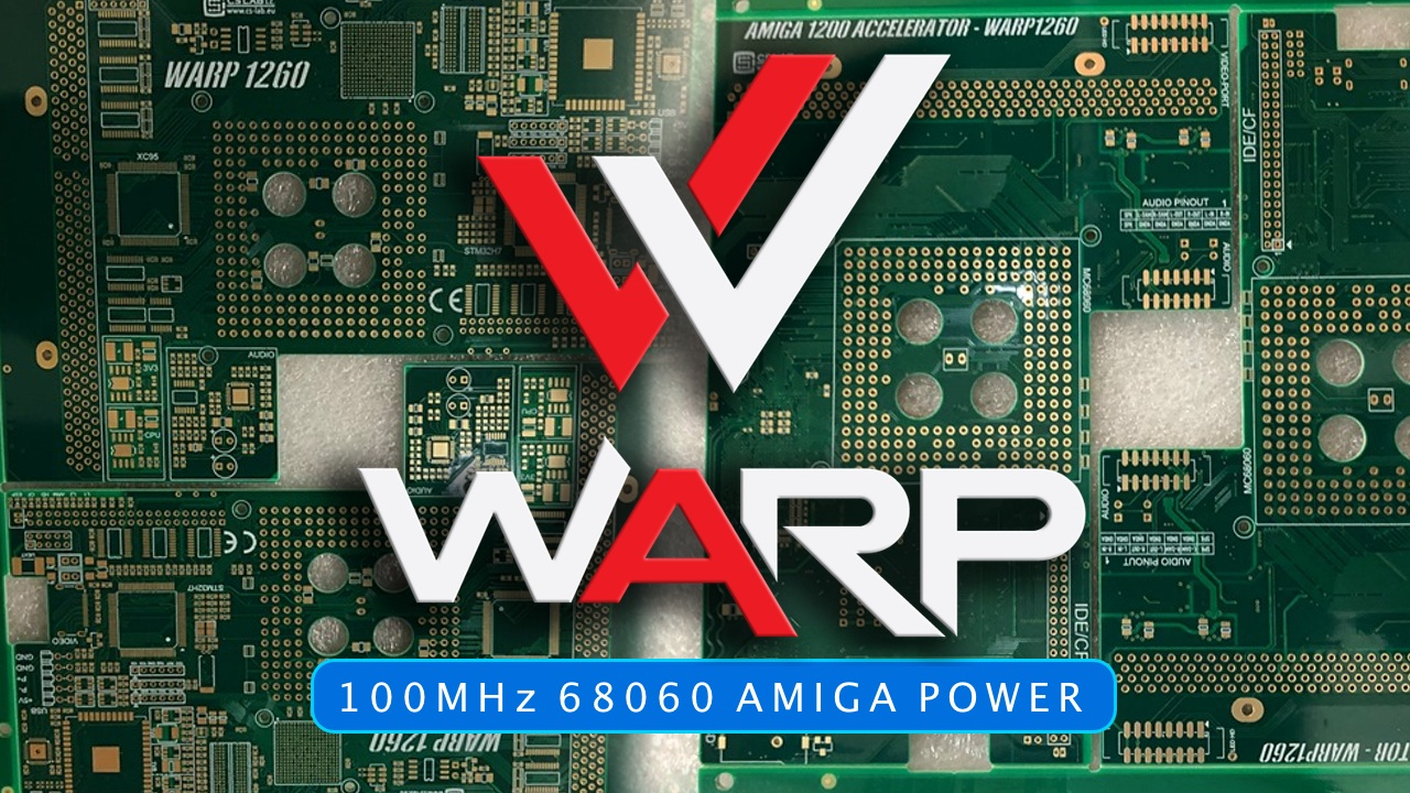 Soon You will Be able to Warp your Classic Amiga
