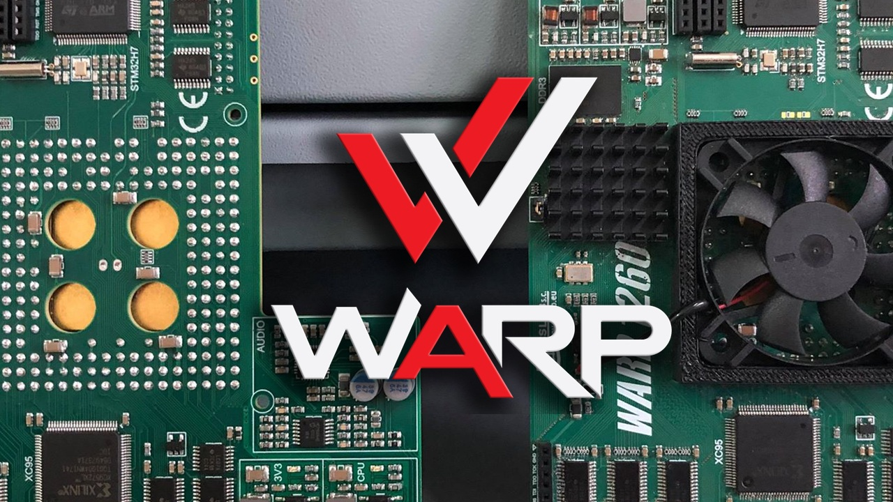 Exclusive Pictures Showing that Warp 1260 is in Production